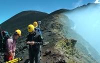 Slovenská gravimetrická expedícia Etna 2018
