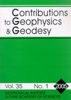 Contributions to Geophysics and Geodesy